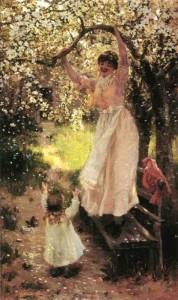 Falling Apple BlossomHamilton, Hamilton