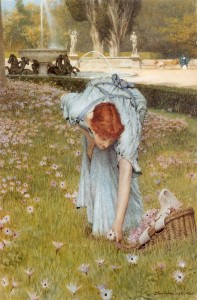 Flora, 1877Alma-Tadema,Sir Lawrence