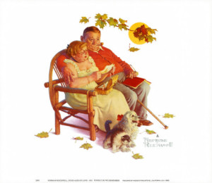 (Fondly Do We Remember Norman Rockwell