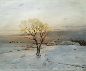 Dubovskoy, Nikolay Nikanorovich  Cold Morning, 1894
