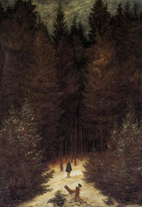 Friedrich, Caspar David The Chasseur in the Forest, 1814