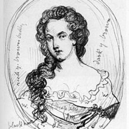 אשת הכתיבה המקצוענית הראשונה אפרה ג'ונסון